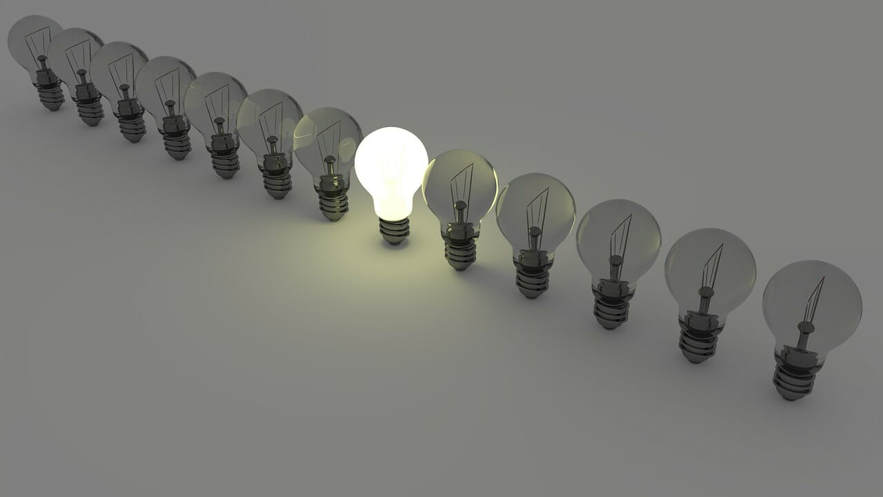 light bulbs off