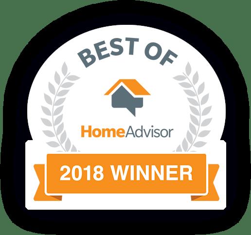 Best of HomeAdvisor - 2018 Winner